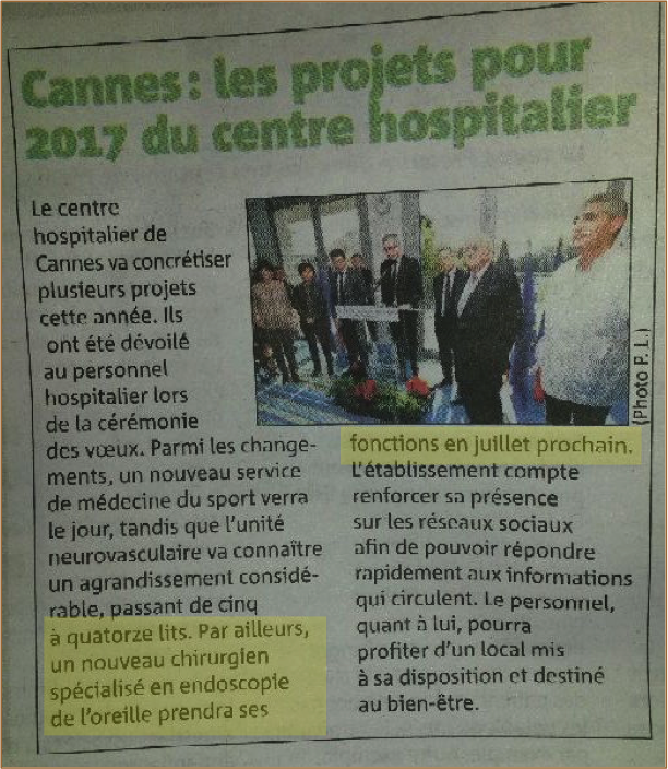 Article nice matin 28 1 17
