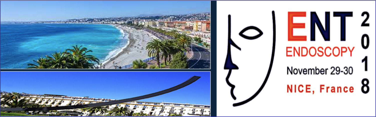 ENT ENDOSCOPY 2018, Nice - France