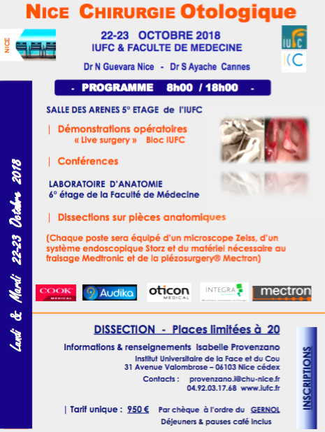 Cours otologie nice 2018 2 2